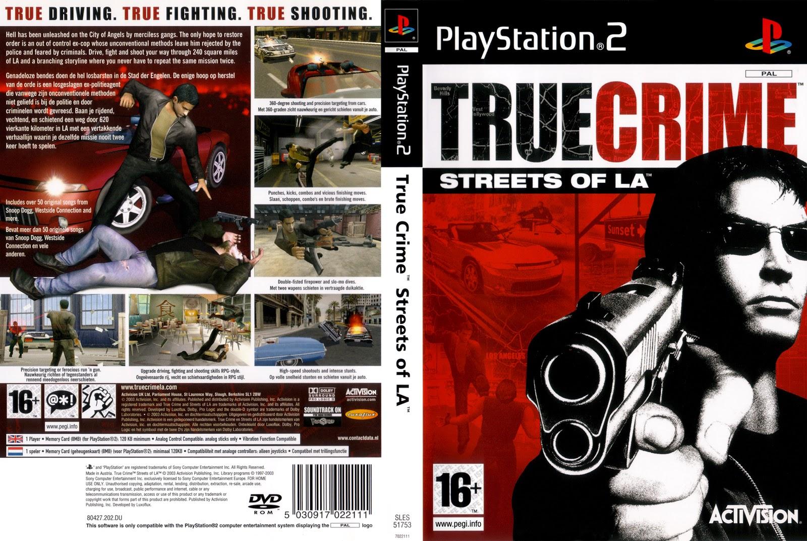 Images of True Crime: Streets Of LA   1600x1074