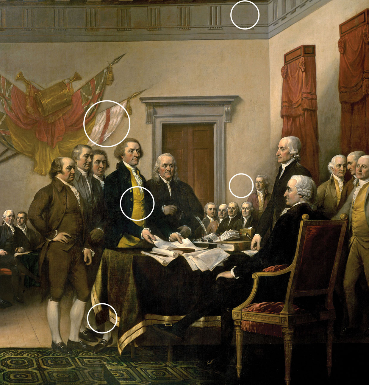 Nice Images Collection: Trumbull's Declaration Of Independence Desktop Wallpapers