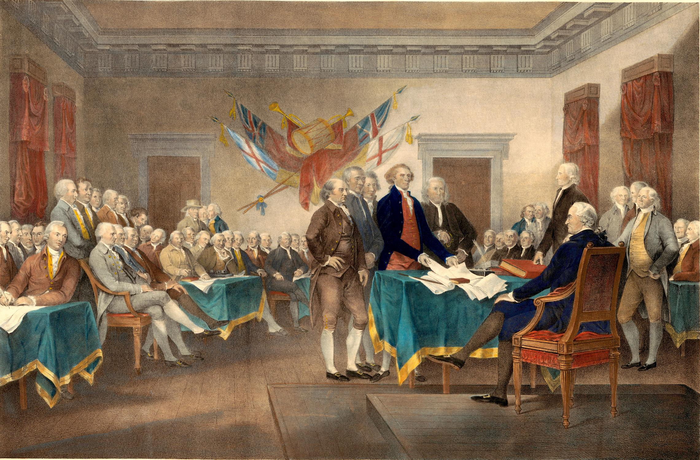 Nice wallpapers Trumbull's Declaration Of Independence 2280x1499px