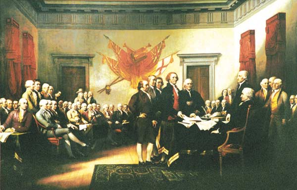 High Resolution Wallpaper | Trumbull's Declaration Of Independence 600x384 px
