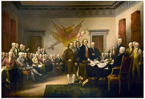 Images of Trumbull's Declaration Of Independence | 473x325