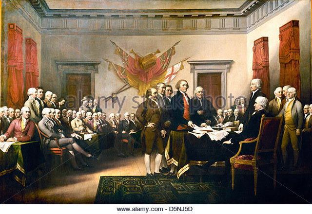 Trumbull's Declaration Of Independence Pics, Artistic Collection
