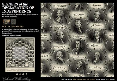 400x275 > Trumbull's Declaration Of Independence Wallpapers