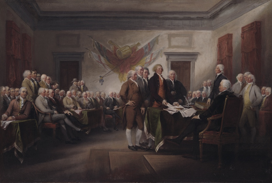 HQ Trumbull's Declaration Of Independence Wallpapers | File 189.36Kb