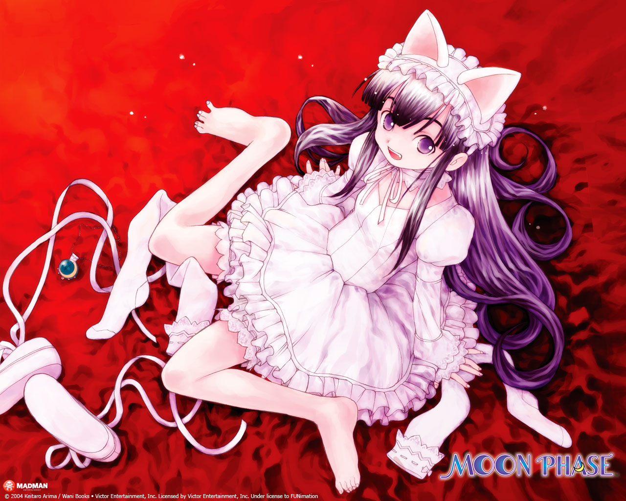 Nice Images Collection: Tsukuyomi: Moon Phase Desktop Wallpapers