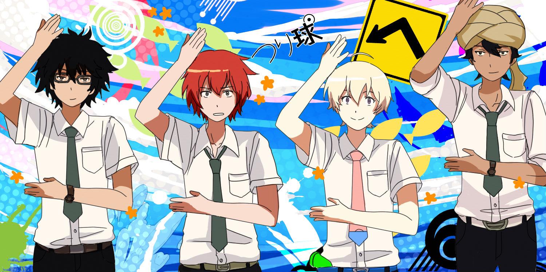 HD Quality Wallpaper | Collection: Anime, 1500x750 Tsuritama