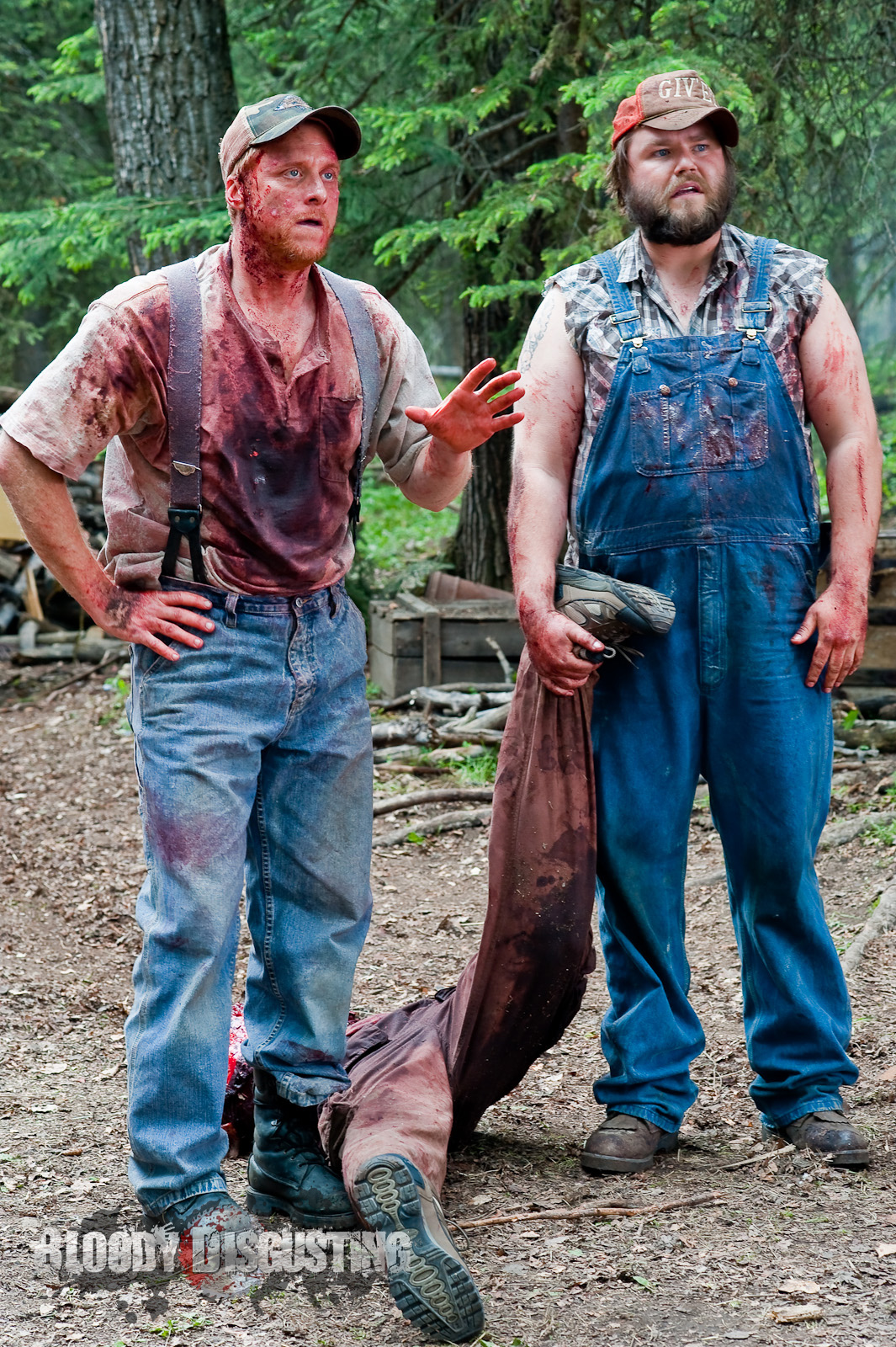Nice Images Collection: Tucker And Dale Vs Evil Desktop Wallpapers