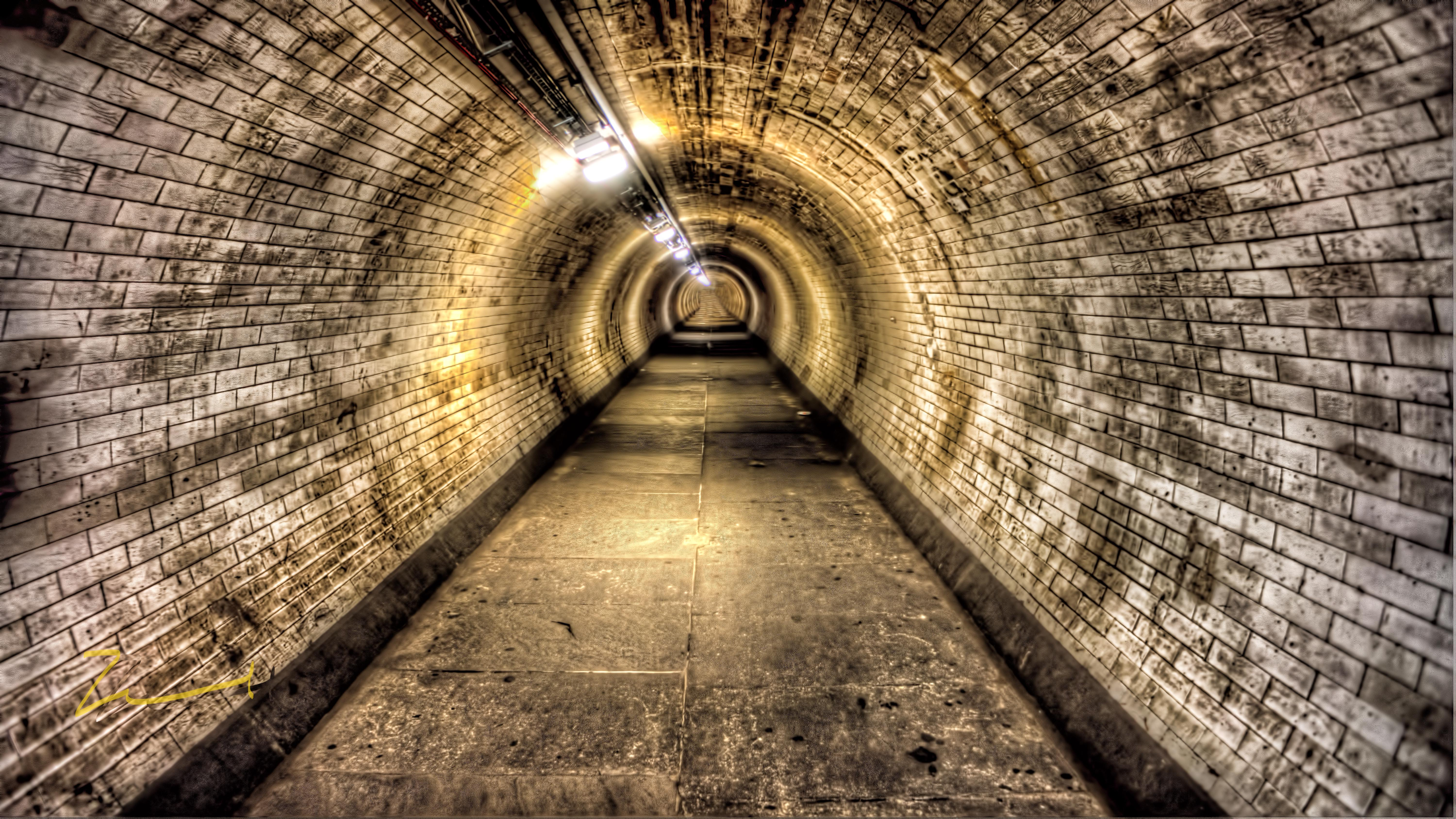 Nice wallpapers Tunnel 6000x3376px