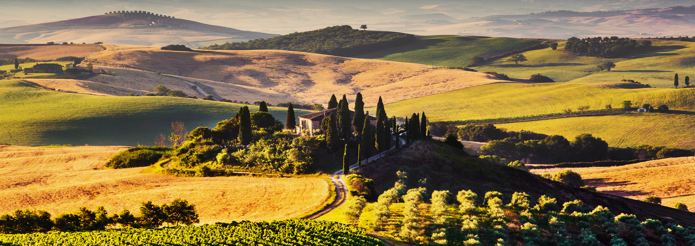 2880x1020 > Tuscany Wallpapers