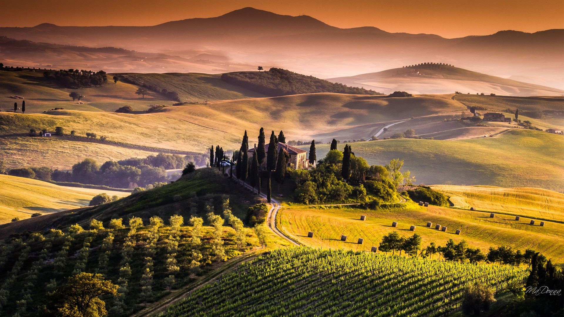 High Resolution Wallpaper | Tuscany 1920x1080 px