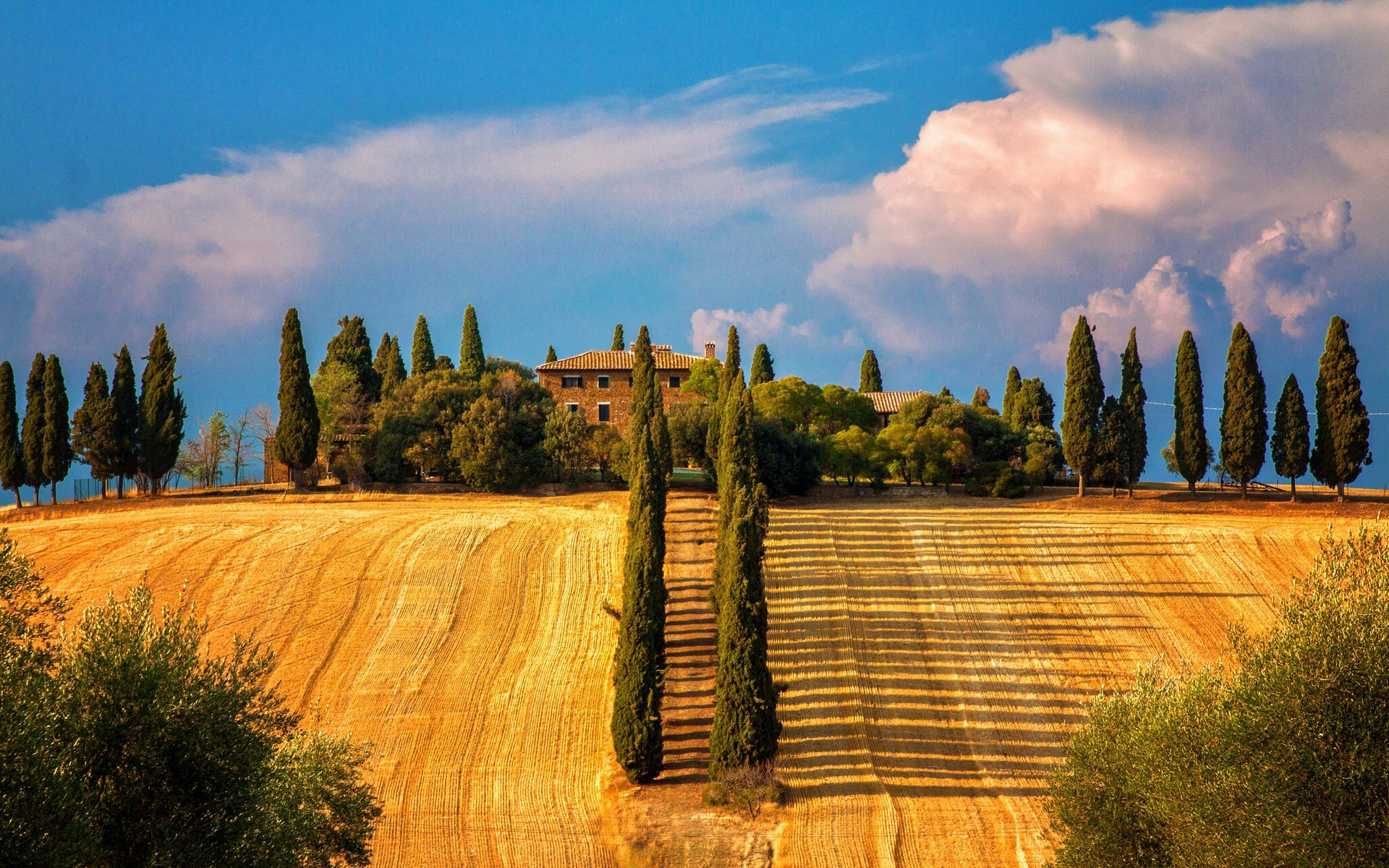 Nice Images Collection: Tuscany Desktop Wallpapers