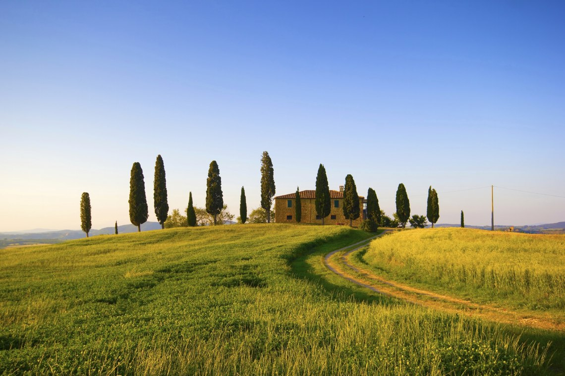 HD Quality Wallpaper | Collection: Photography, 1140x760 Tuscany