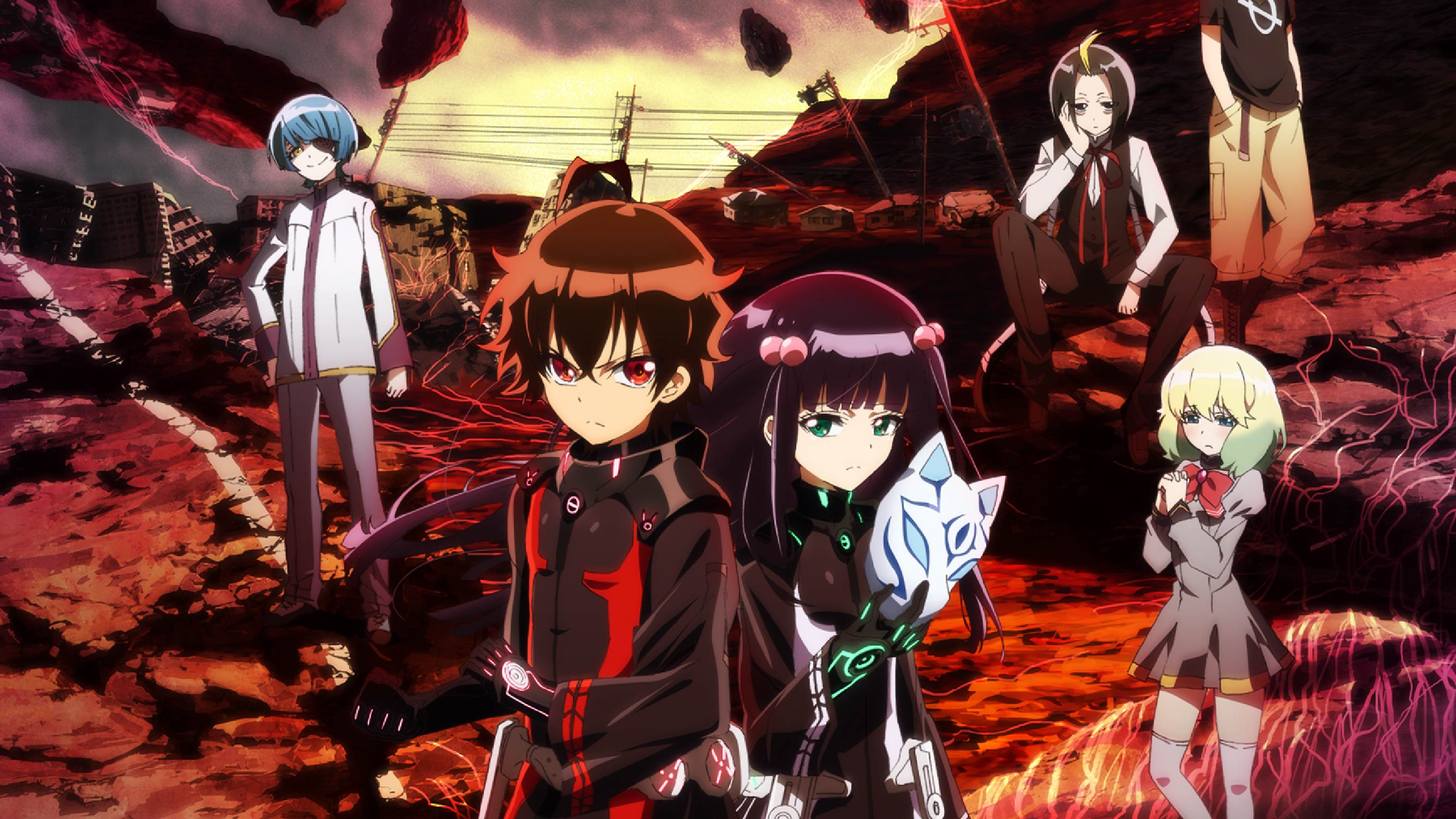 Twin Star Exorcists Backgrounds on Wallpapers Vista