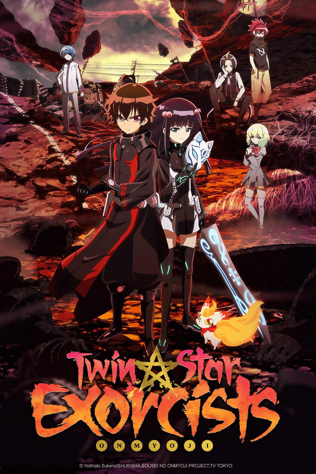Twin Star Exorcists Backgrounds, Compatible - PC, Mobile, Gadgets| 640x960 px