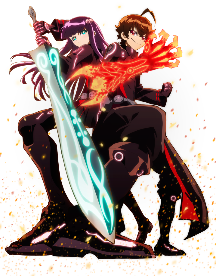 HD Quality Wallpaper | Collection: Anime, 718x917 Twin Star Exorcists