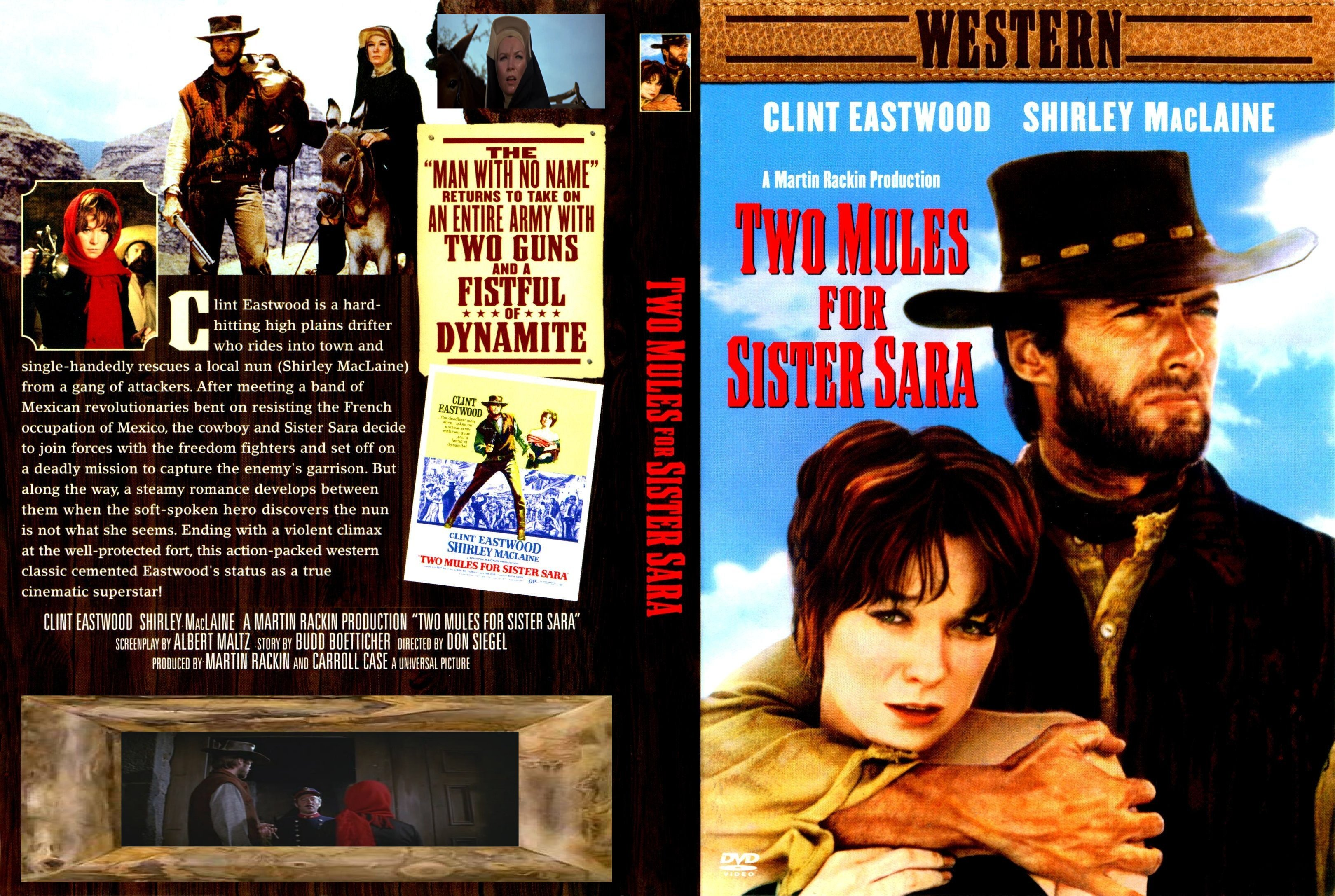 Two Mules For Sister Sara Pics, Movie Collection