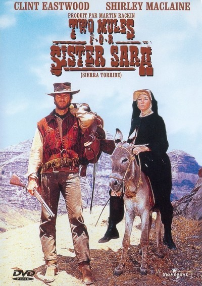 HD Quality Wallpaper | Collection: Movie, 400x567 Two Mules For Sister Sara