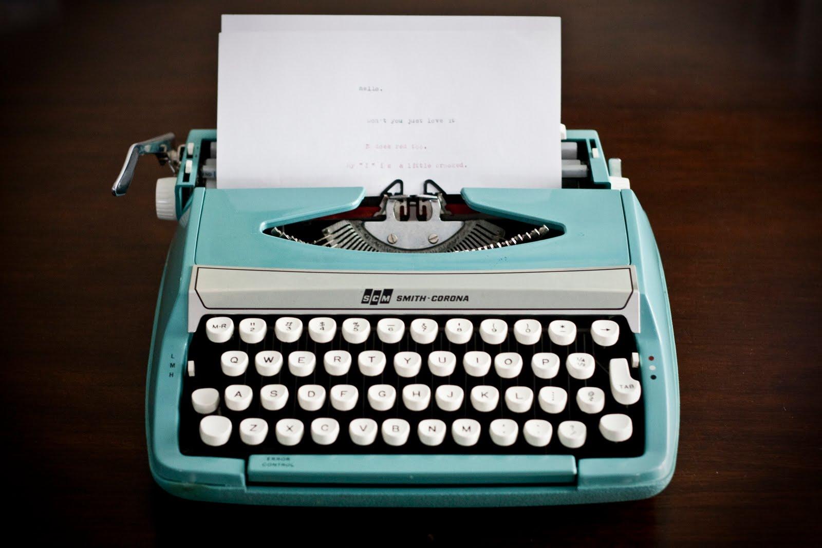 1600x1067 > Typewriter Wallpapers