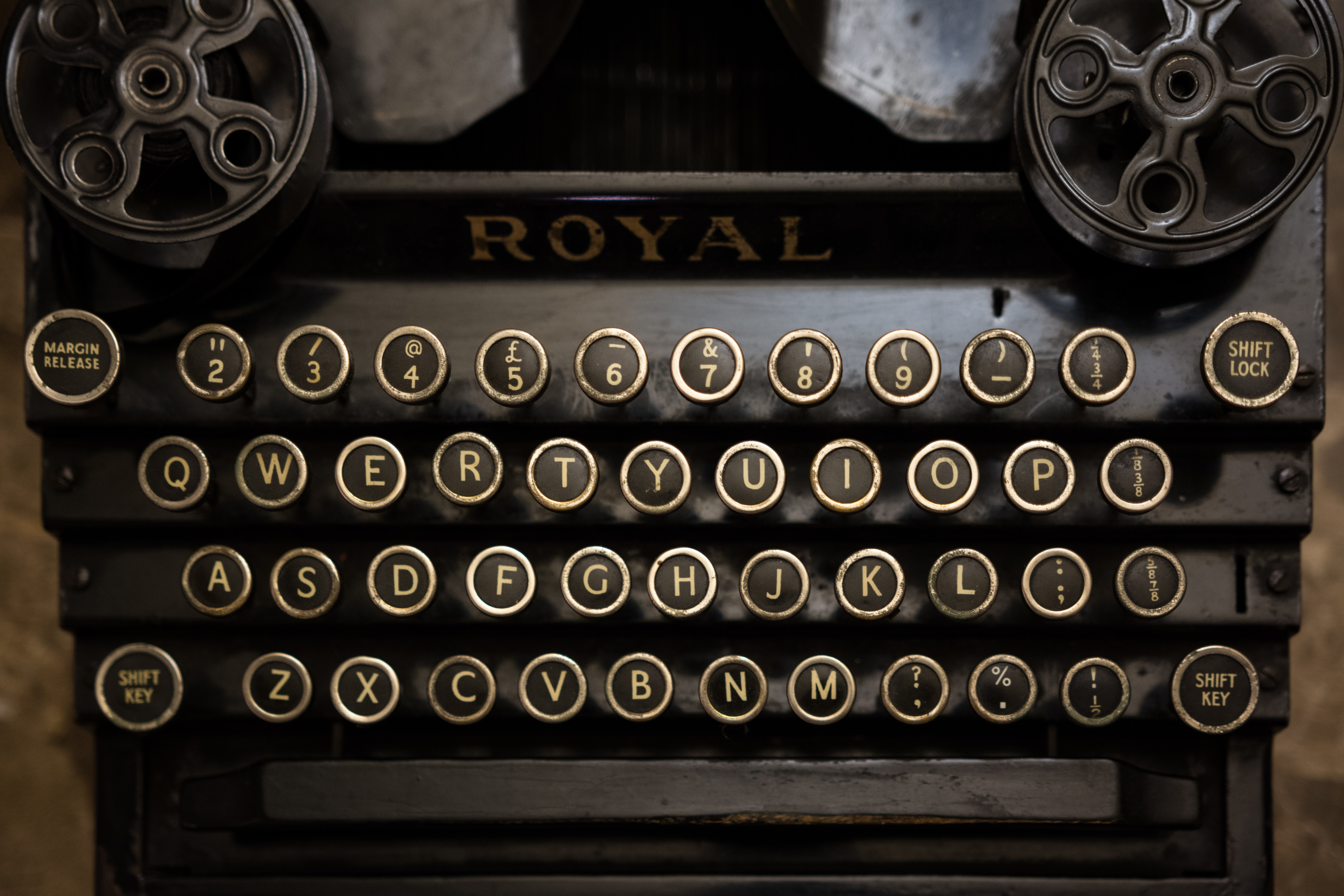 Typewriter Backgrounds, Compatible - PC, Mobile, Gadgets| 6000x4000 px