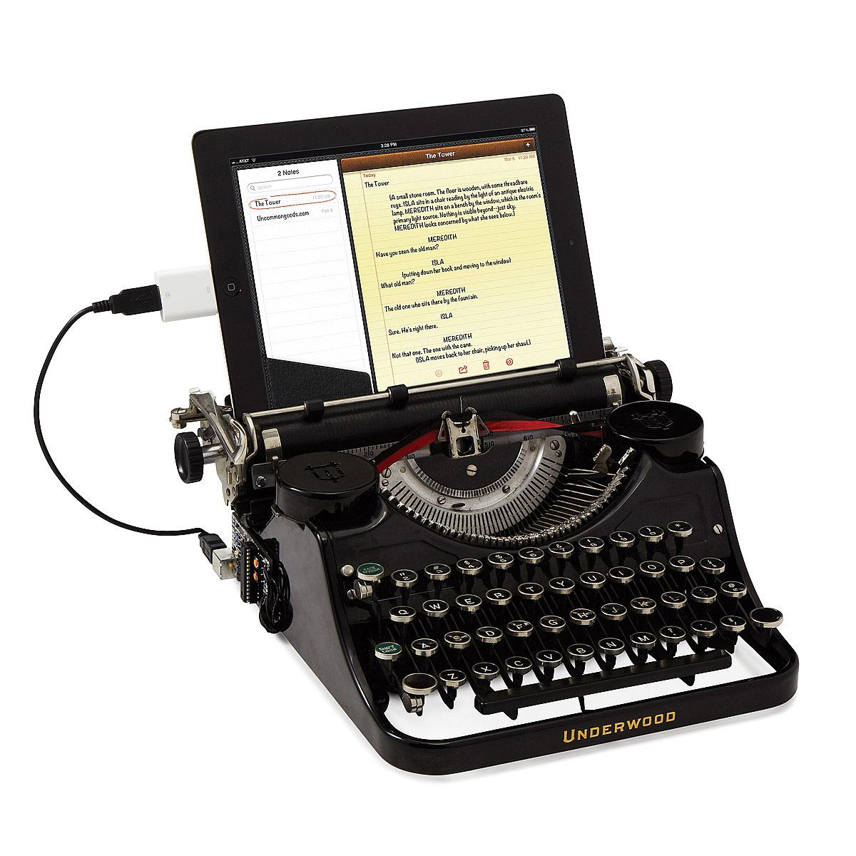 Typewriter Pics, Man Made Collection