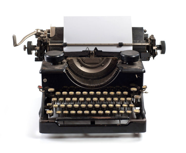 Nice wallpapers Typewriter 765x628px