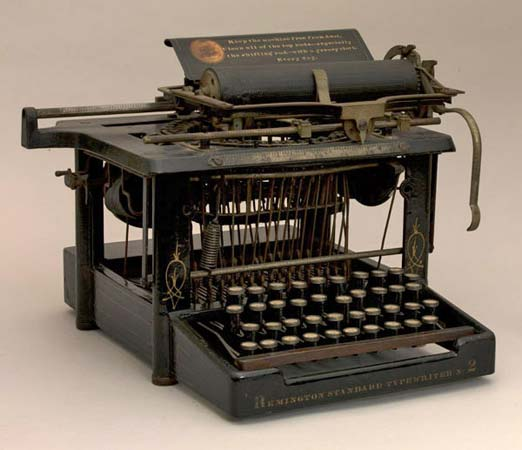 HD Quality Wallpaper | Collection: Man Made, 522x450 Typewriter