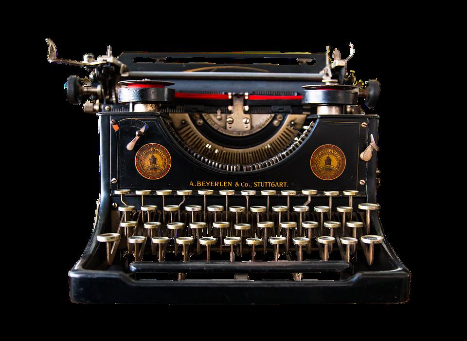 HQ Typewriter Wallpapers | File 620.52Kb
