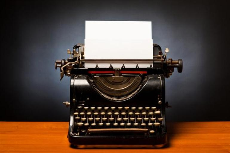 HD Quality Wallpaper | Collection: Man Made, 770x511 Typewriter
