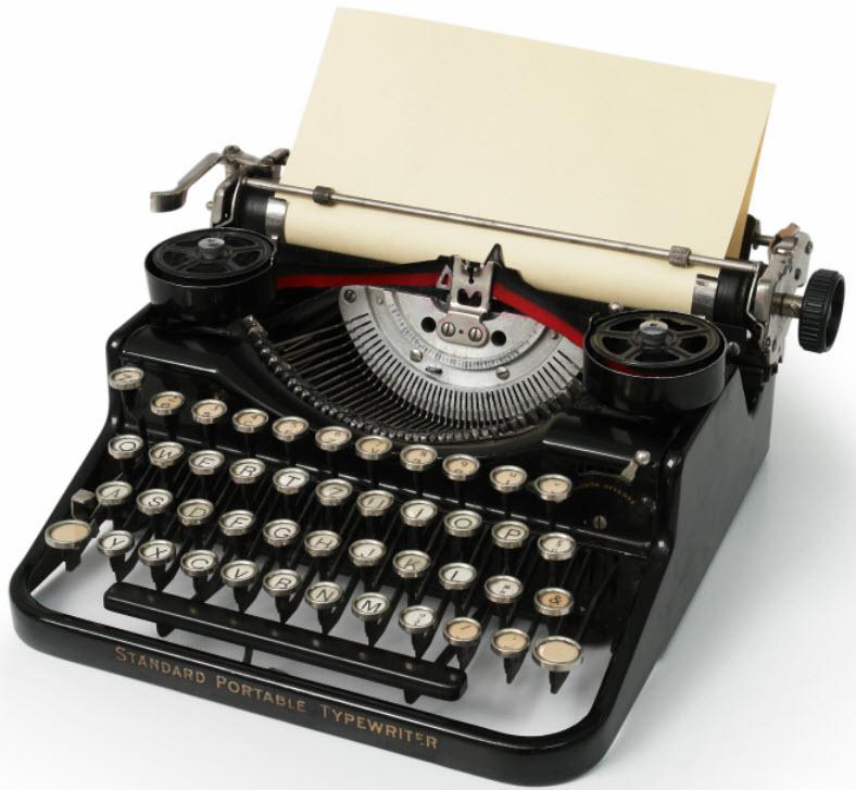 Nice wallpapers Typewriter 788x727px