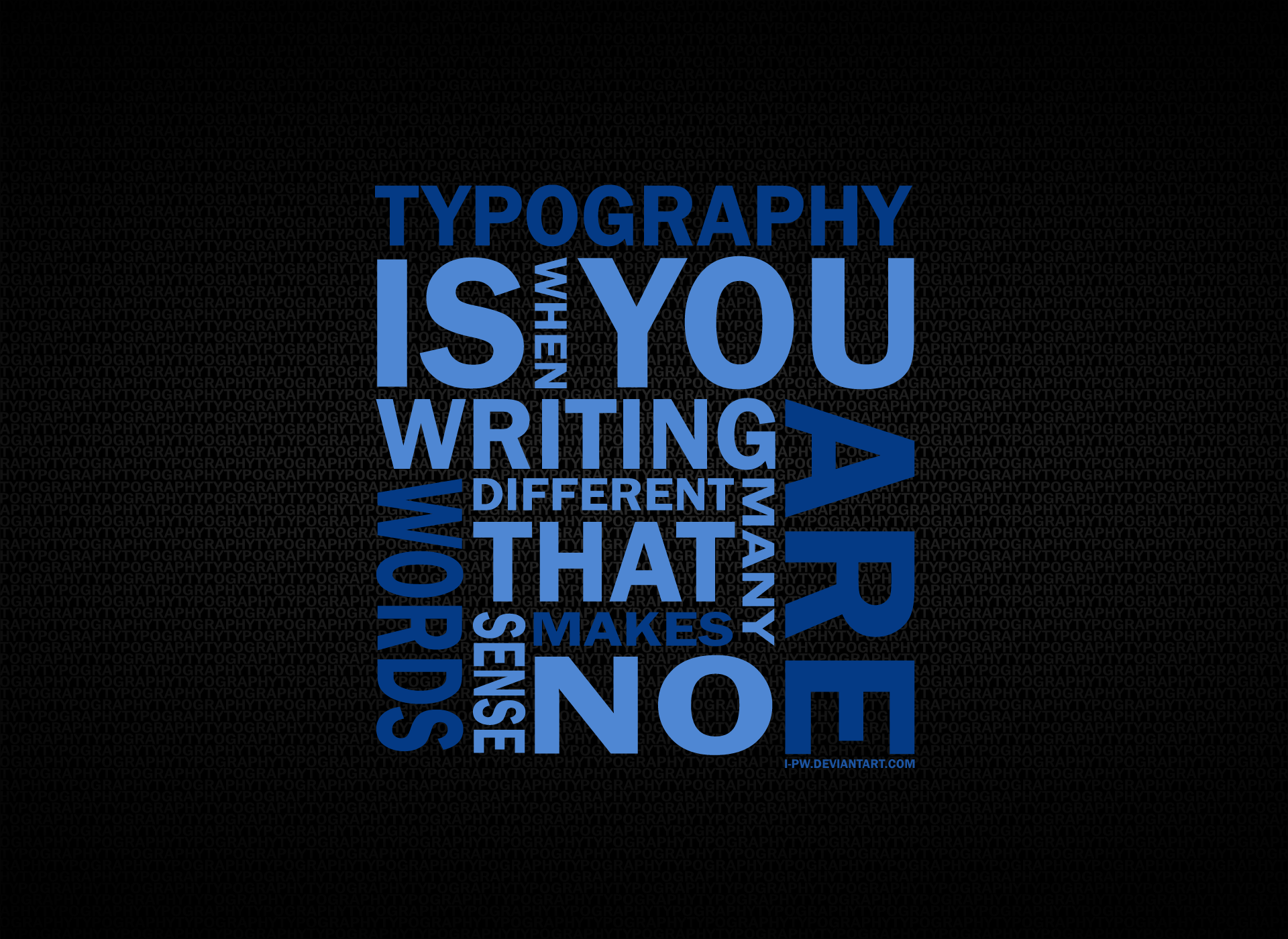 Typography Pics, Artistic Collection