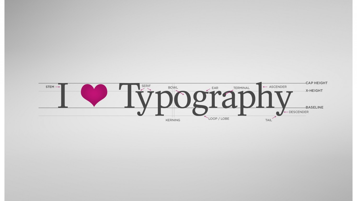 High Resolution Wallpaper | Typography 1366x768 px
