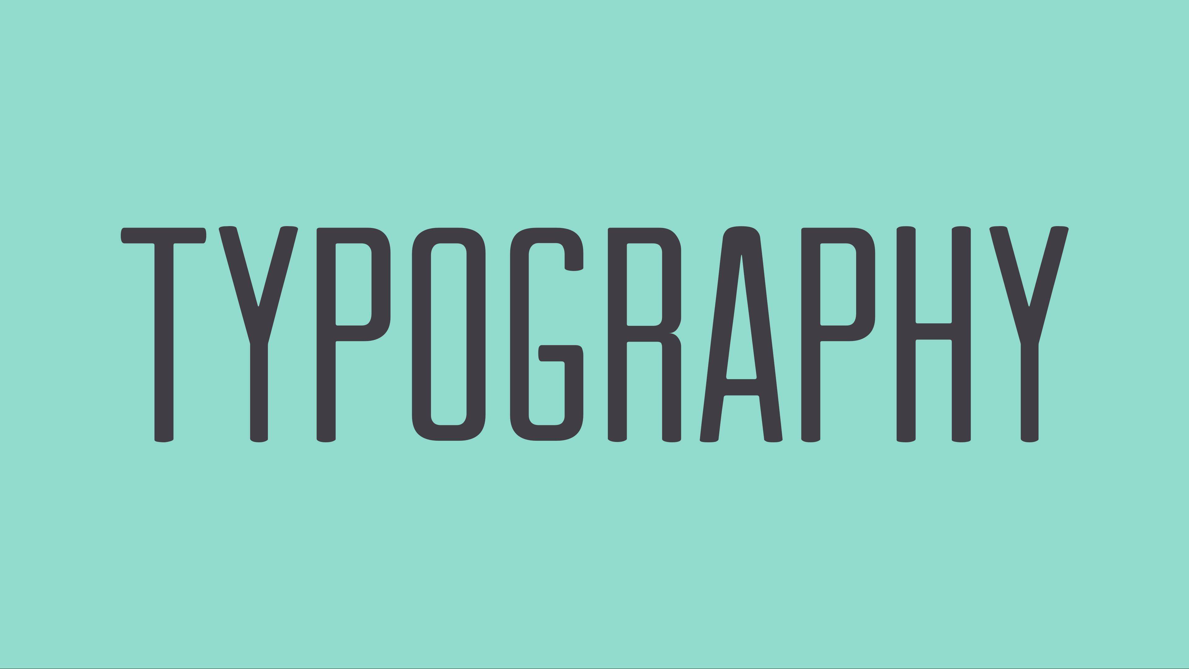 Typography Backgrounds on Wallpapers Vista