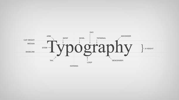 Typography Backgrounds, Compatible - PC, Mobile, Gadgets| 610x343 px