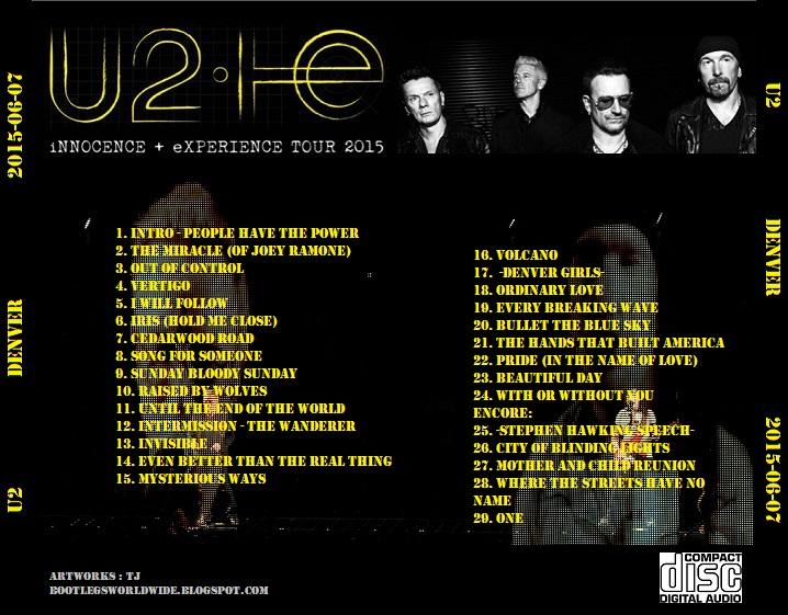U2: INNOCENCE + EXPERIENCE Pics, Movie Collection