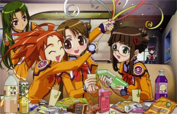 HD Quality Wallpaper | Collection: Anime, 600x386 Uchuu No Stellvia