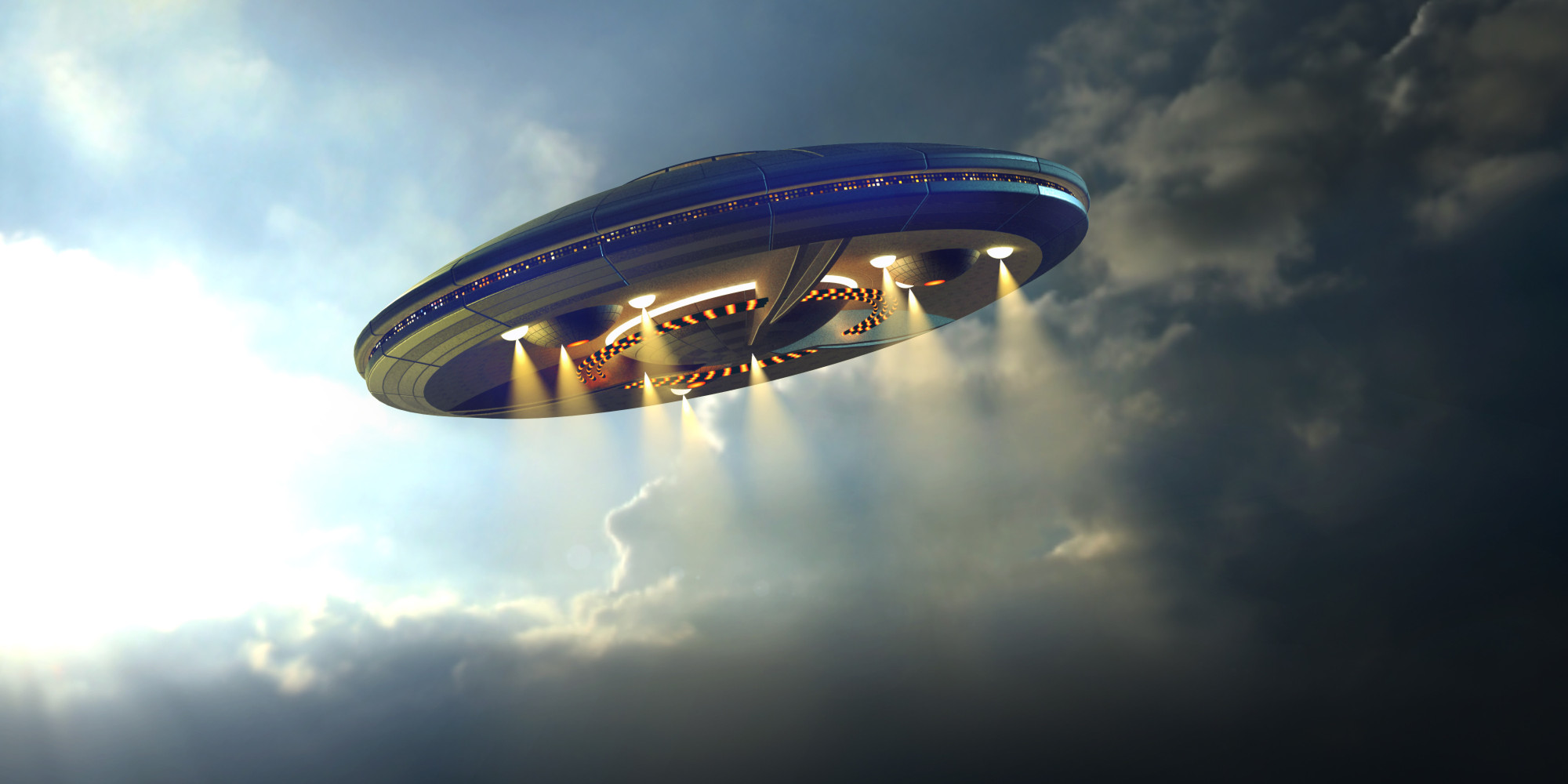 Nice wallpapers UFO 2000x1000px