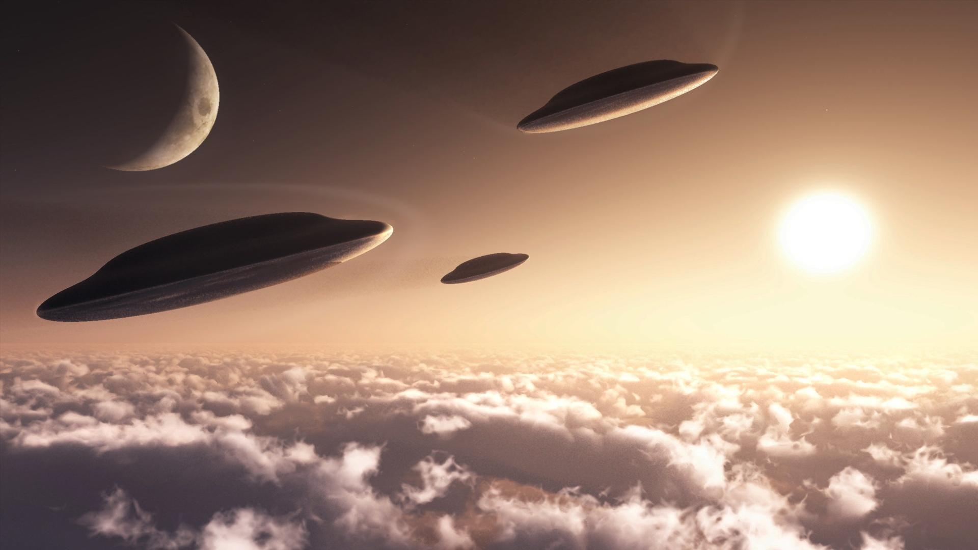 High Resolution Wallpaper   UFO 1920x1080 px