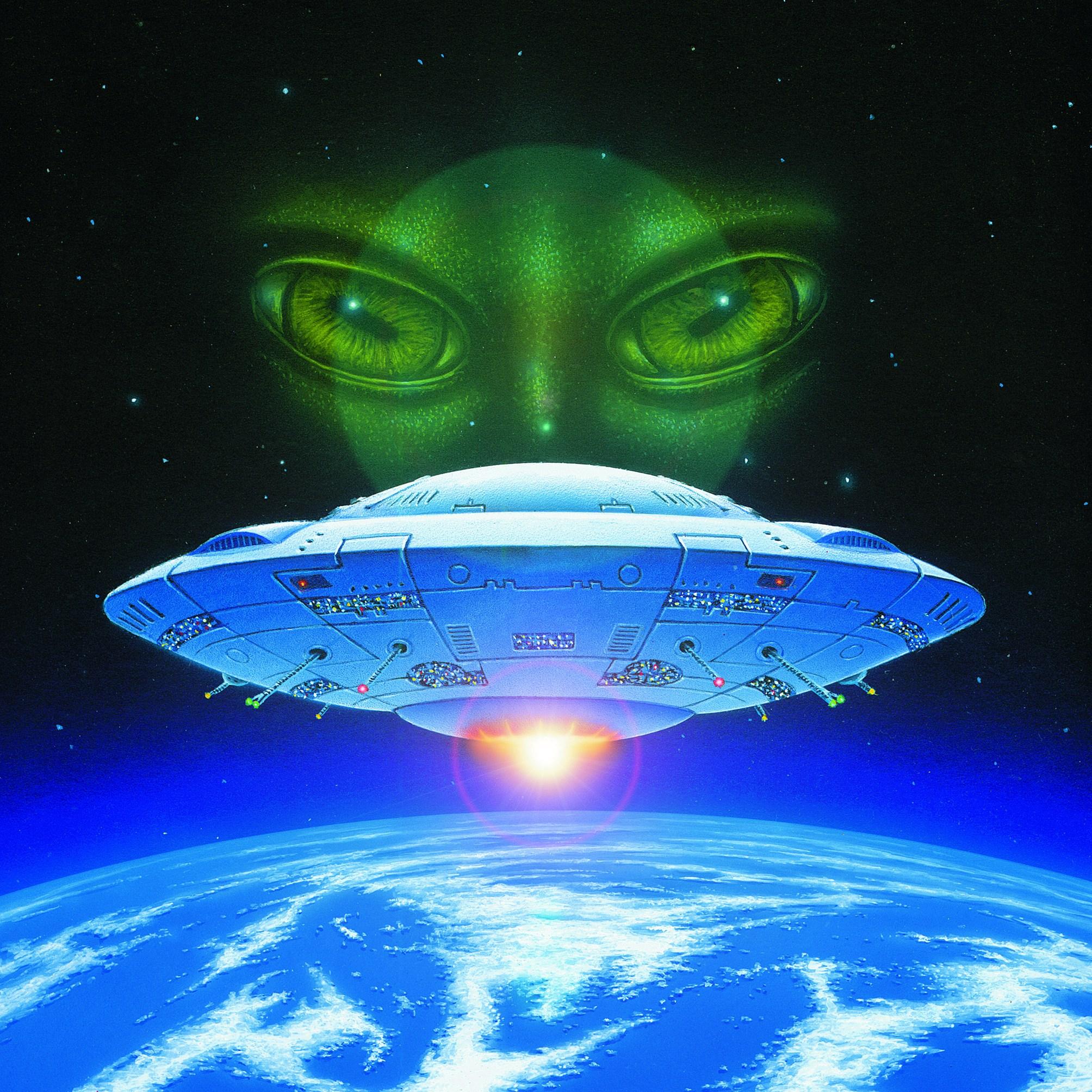 High Resolution Wallpaper   UFO 2008x2008 px