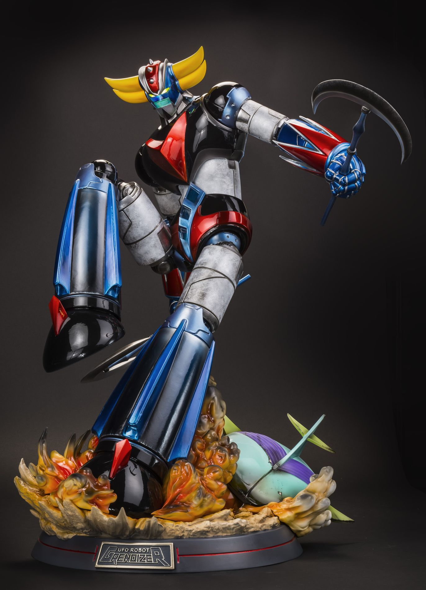 HD Quality Wallpaper | Collection: Anime, 1372x1900 Ufo Robot Grendizer