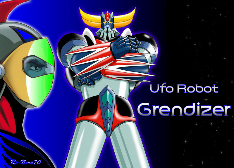 Nice Images Collection: Ufo Robot Grendizer Desktop Wallpapers