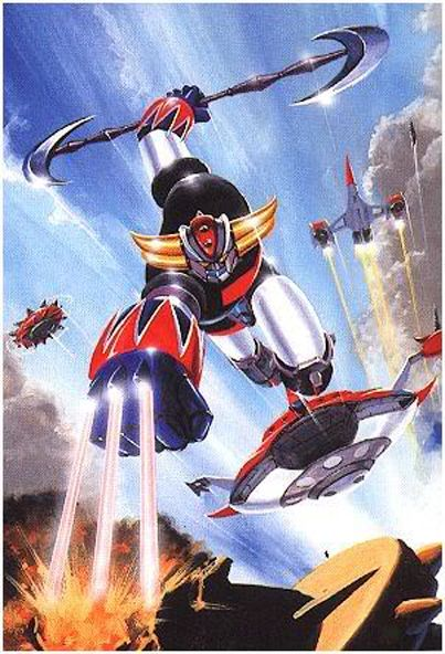 HD Quality Wallpaper | Collection: Anime, 403x592 Ufo Robot Grendizer