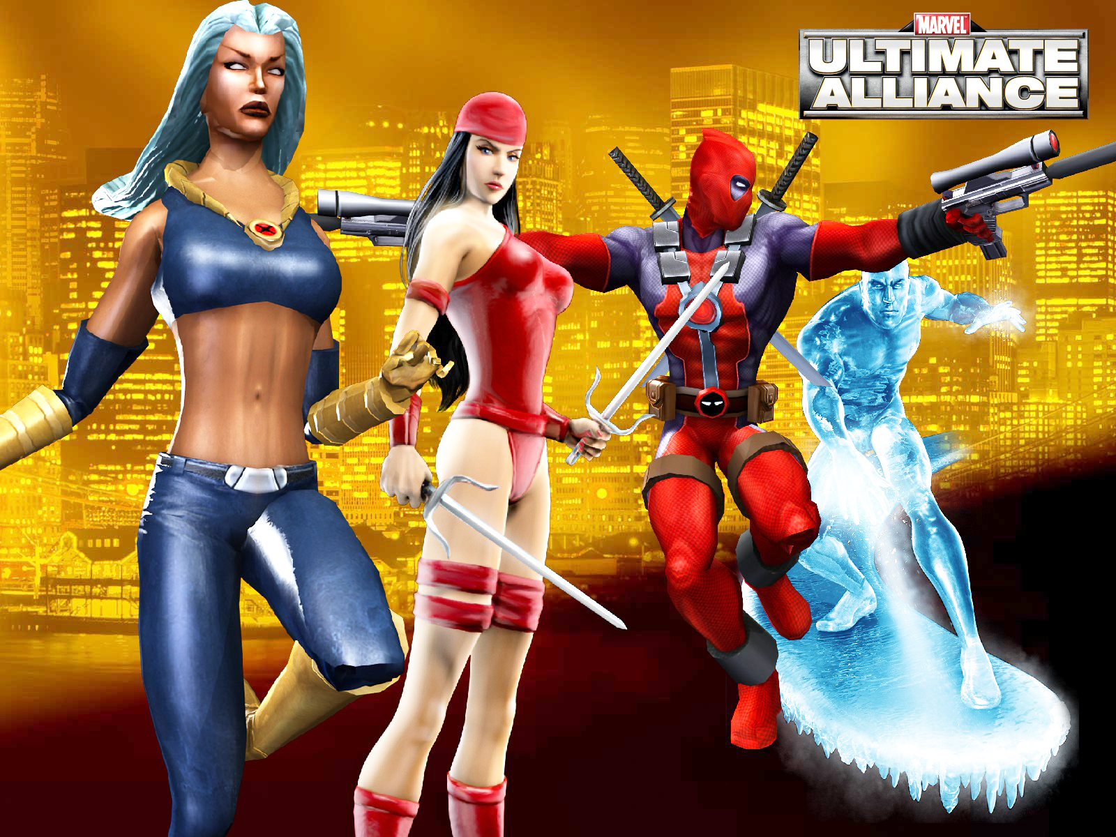 Ultimate Alliance Wallpapers Comics Hq Ultimate Alliance