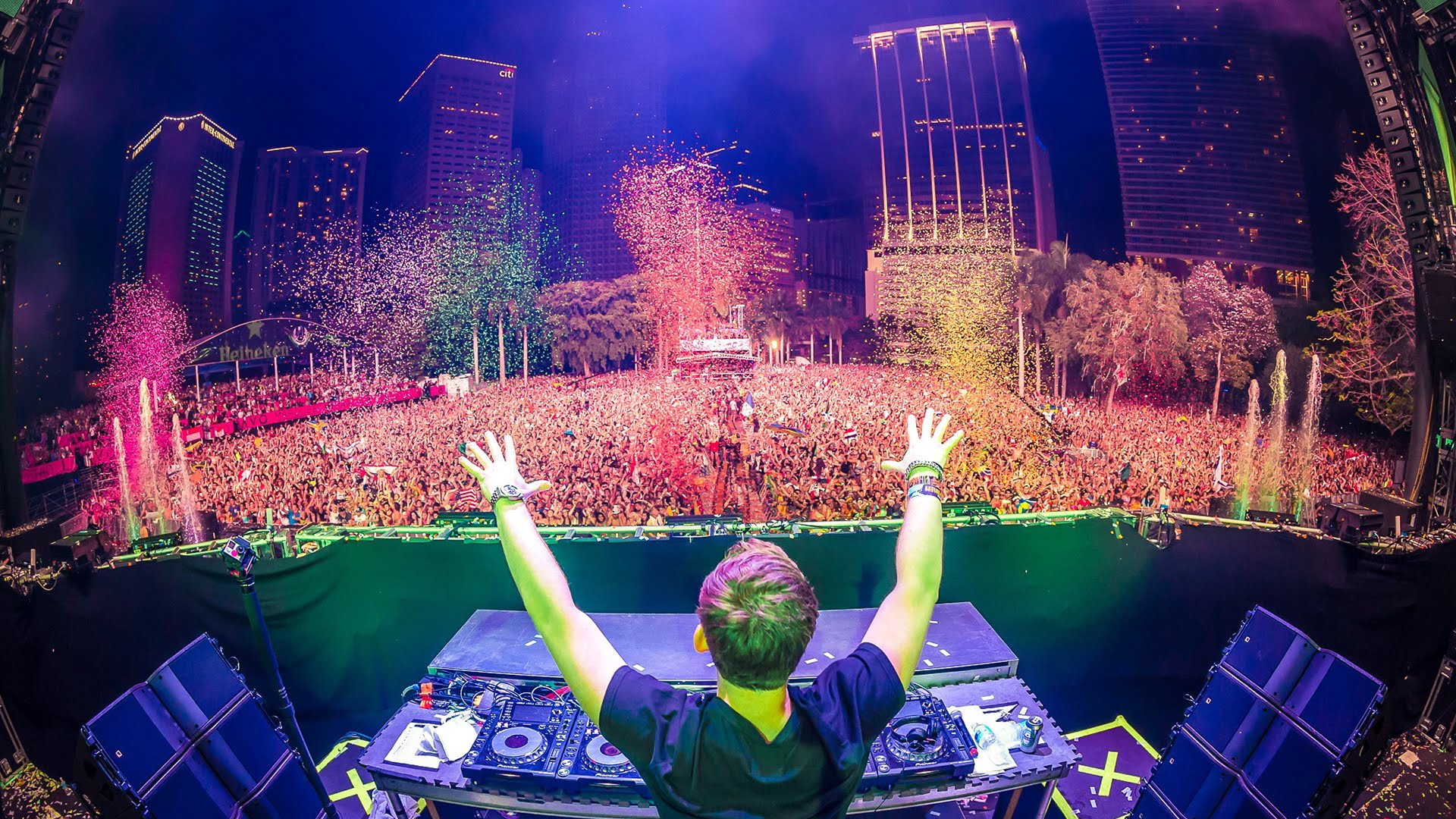 Nice Images Collection: Ultra Music Festival Desktop Wallpapers
