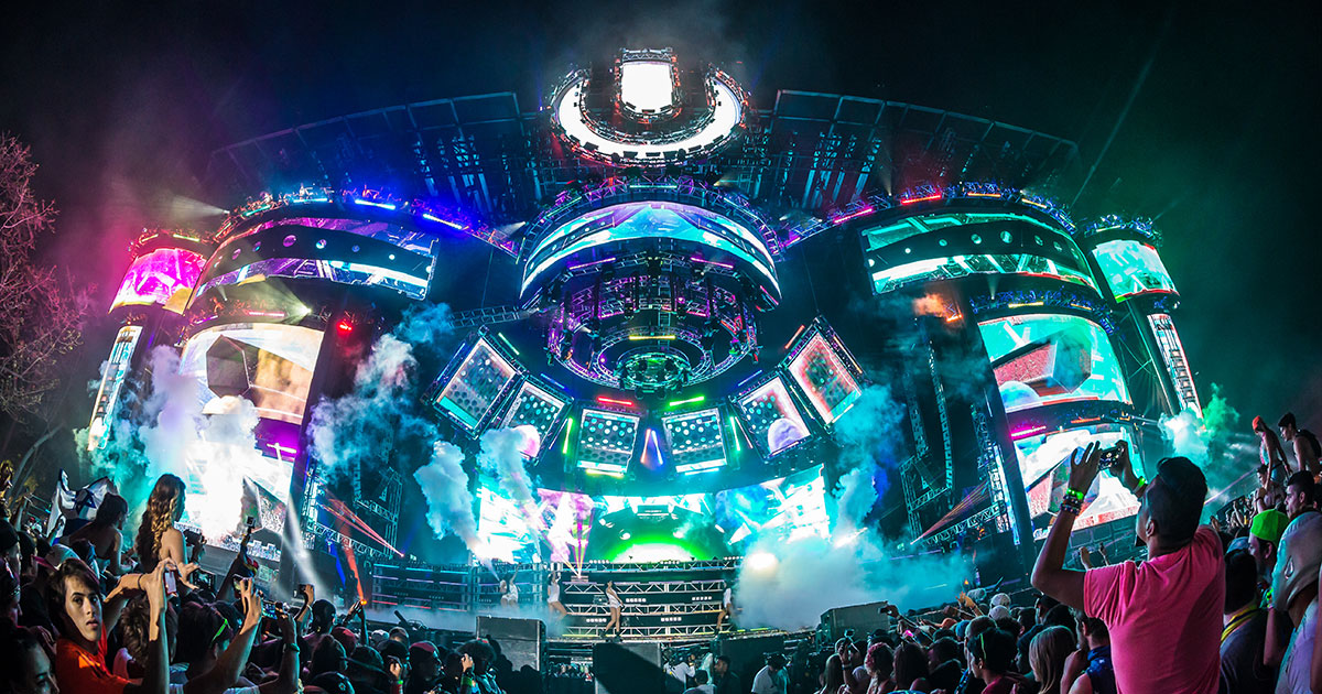 HD Quality Wallpaper   Collection: Music, 1200x630 Ultra Music Festival