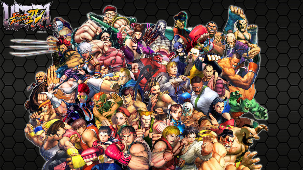 street fighter video game background