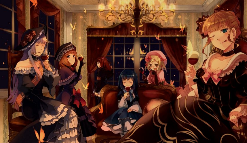 858x499 > Umineko: When They Cry Wallpapers