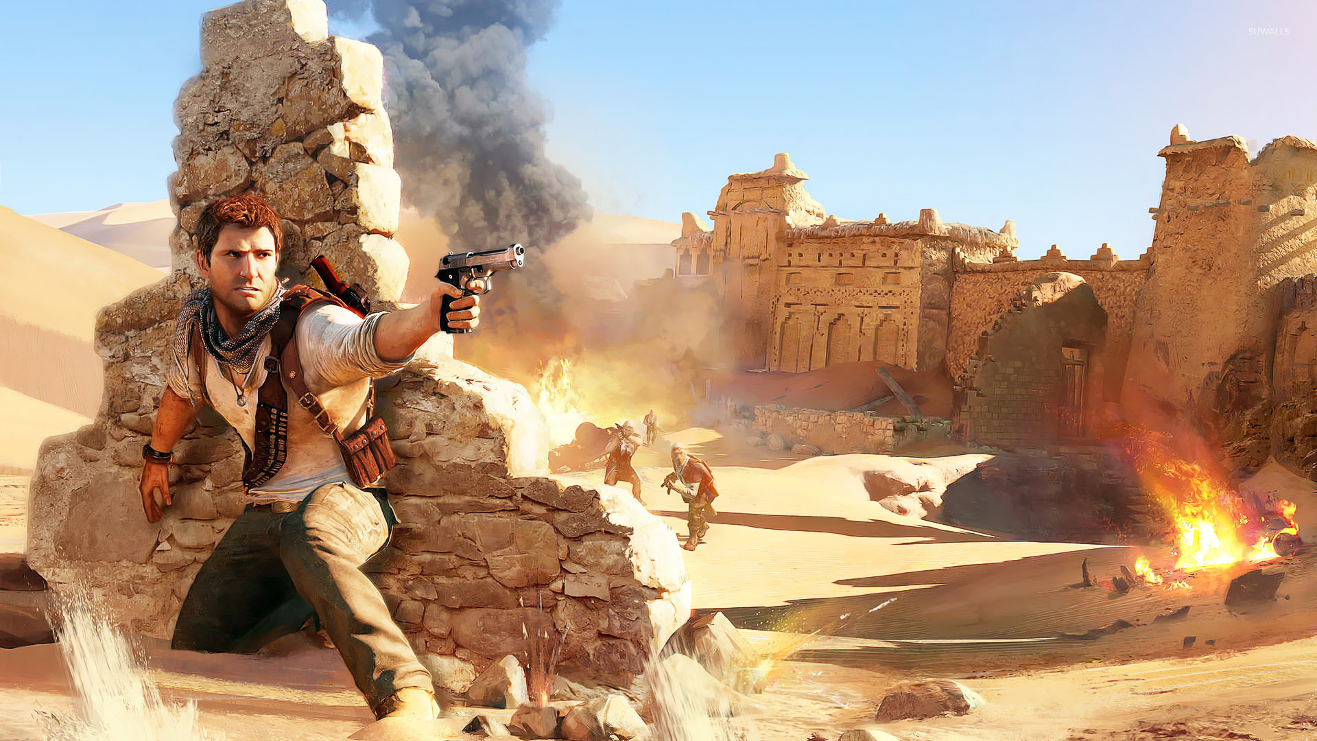 Uncharted 3 Drake S Deception Wallpapers Video Game Hq