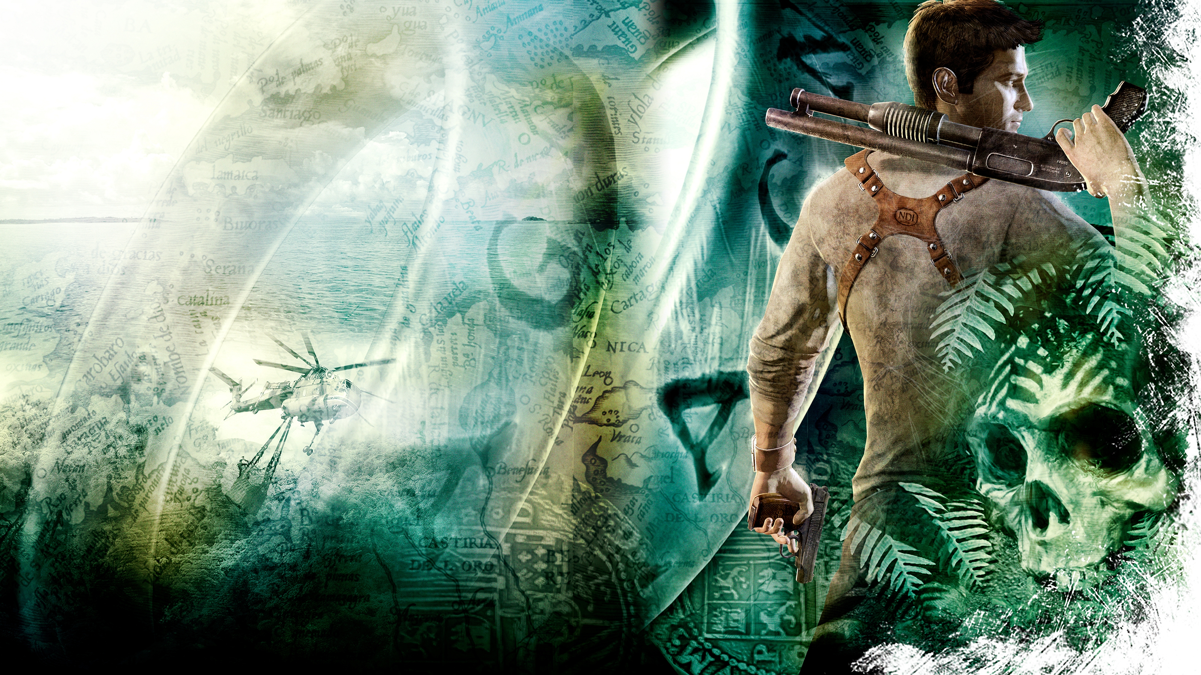 Uncharted Drake S Fortune Wallpapers Video Game Hq Uncharted