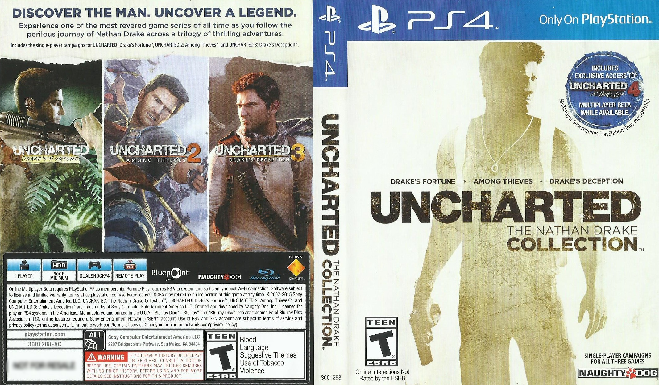 Most Viewed Uncharted The Nathan Drake Collection Wallpapers 4k