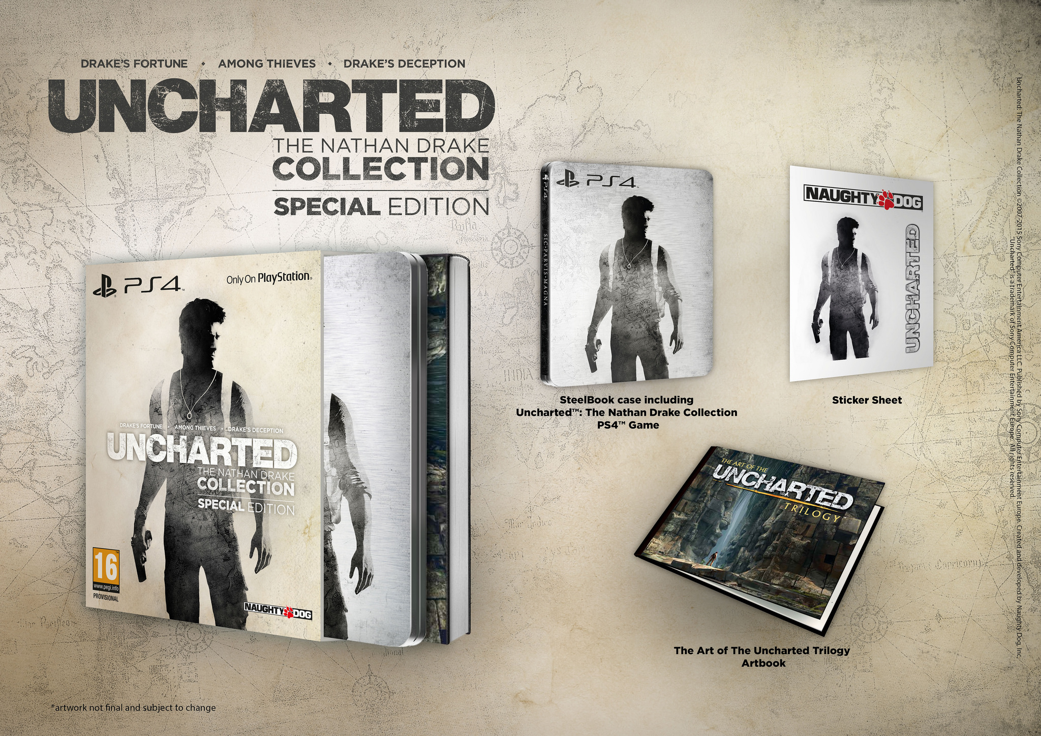 Uncharted The Nathan Drake Collection Wallpapers Video Game Hq